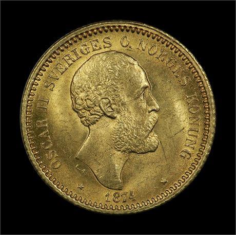 Sverige 10 Kronor 1874 Kv 0