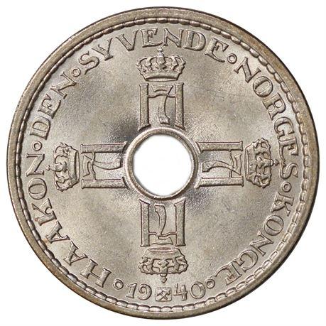 1 Krone 1940 Kv 0