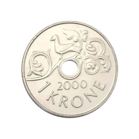 1 krone 2000 kv 0