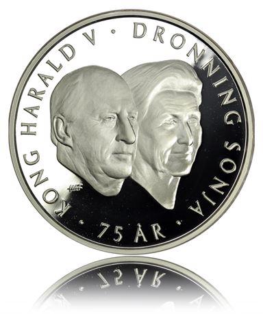 200 Kroner 2012 Kongeparet Proof