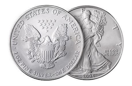 USA Silver Eagle, Mix Dates UNC NB! Siste vi har på lager!