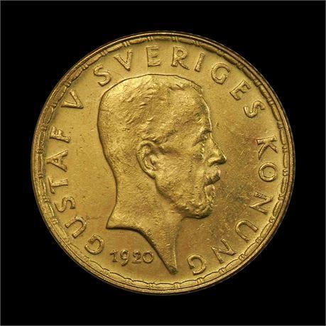 Sverige 5 Kronor 1920 Kv 01