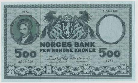 500 Kroner 1974 A5044700 Kv 1+