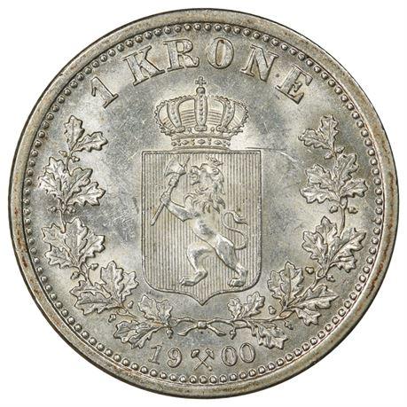 1 Krone 1900 Kv 0