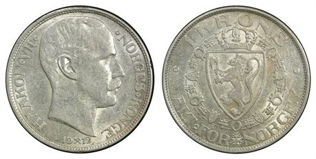 1 Krone 1912 Kv 1+