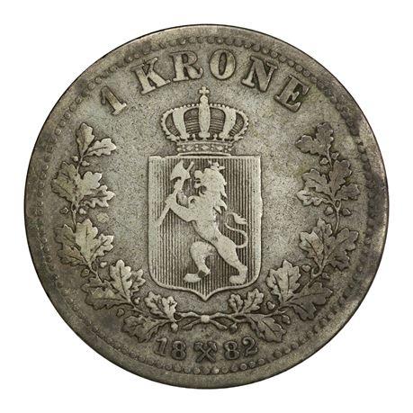 1 Krone 1882 Kv 1