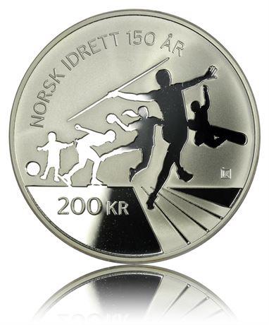 200 kroner 2011 NIF 200 år Proof