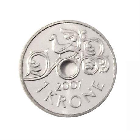 1 krone 2007 kv 0
