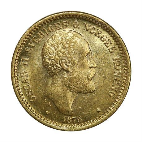 Sverige 10 Kronor 1874 (74/73) Kv 0/01