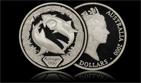 Australia $5 Sydney OL RANDOM TYPE Proof 5 Stk