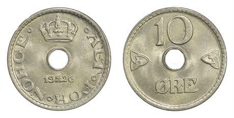 10 Øre 1926 Kv 0