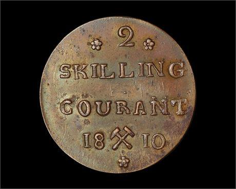 2 Skilling 1810 Kv 0/01