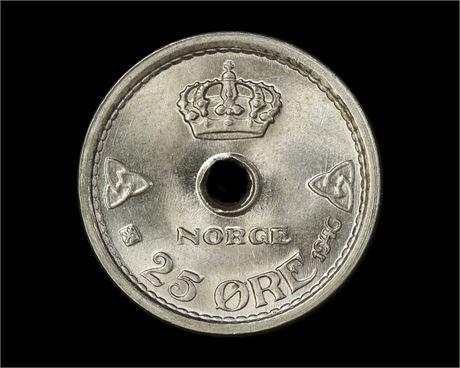 25 Øre 1949 Kv 0