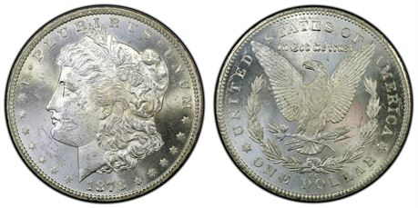 USA Morgan Dollar 1878 CC Kv 0/01