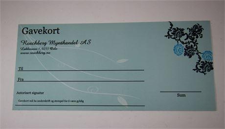 Gavekort - kr 500.