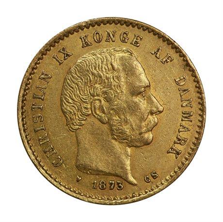 Danmark 10 Kroner 1873 Kv 1+