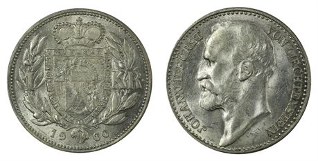 Liechtenstein Krone 1900 Kv 01