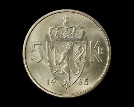 5 Kroner 1965 Kv 0