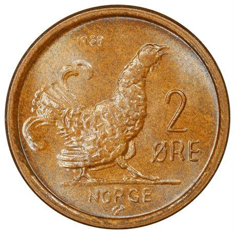 2 Øre 1958 Kv 0
