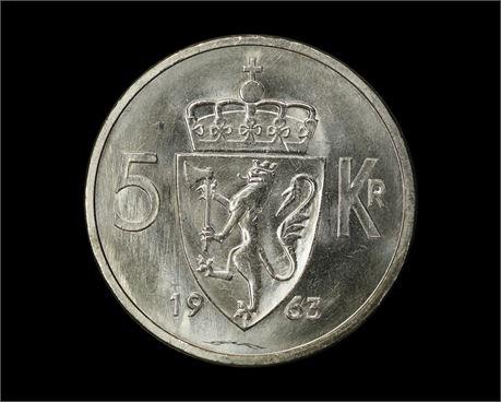 5 Kroner 1963 Prakt