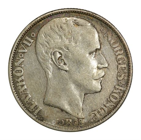 1 Krone 1908 Plate Kv 1