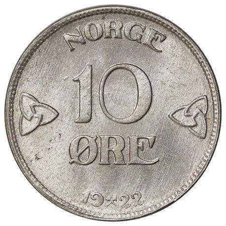 10 Øre 1922 Kv 0
