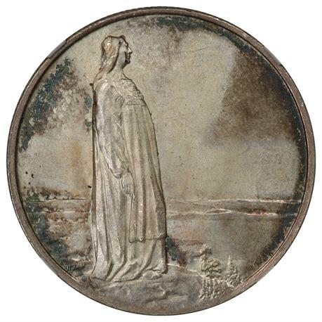 2 kroner 1914 Mor Norge, kv 0/01, NGC MS63