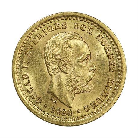 Sverige 5 Kronor 1899 Kv 01