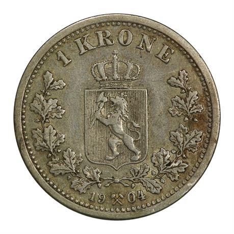 1 Krone 1904 Kv 1