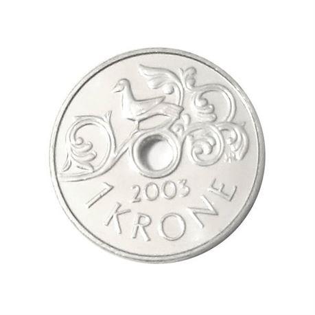 1 krone 2003 kv 0