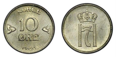 10 Øre 1923 Kv 0