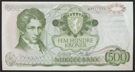 500 Kroner 1978 A Kv 01