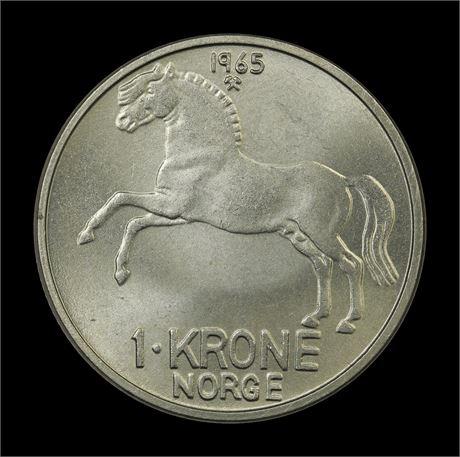 1 Krone 1965 Kv 0