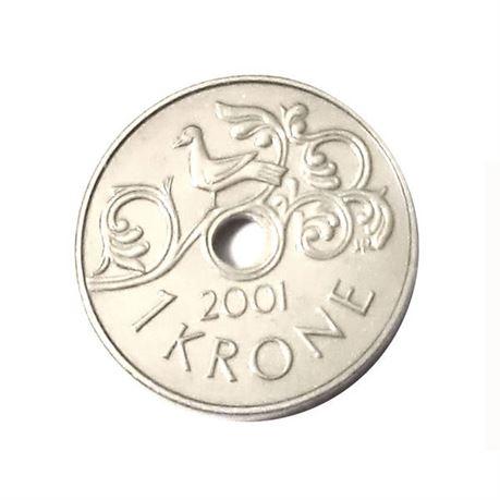 1 krone 2001 kv 0