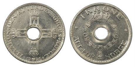 1 Krone 1926 Kv 0/01
